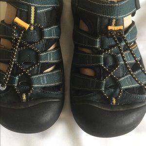 Keen waterproof sandals.